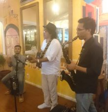 Acoustic at Cibo Restaurant Canggu by Eva Scolaro Entertainment The Agency