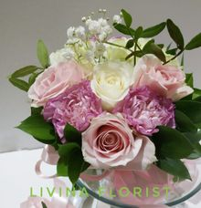 Bridesmaids Boquet by Livina Florist