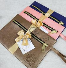 dakota pouch packaging ribbon for ayu & erick by Gemilang Craft