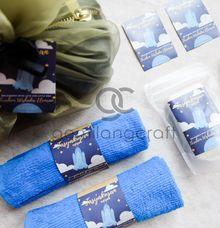 boxy premium packaging organdi for tasyakuran ibrahim wishaka by Gemilang Craft