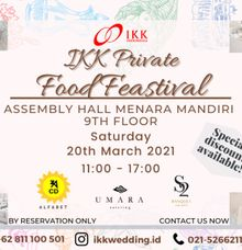 IKK Private Food Feastival! by Skenoo Hall Emporium Pluit by IKK Wedding