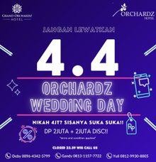 4.4 FLASH DEAL WEDDING PROMO by Orchardz Hotel Industri