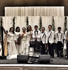 The wedding of Nicko & Michelle by Wijaya Music Entertainment