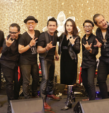 "The wedding of Caca & Yunizar ""Rocker theme"" by Wijaya Music Entertainment"