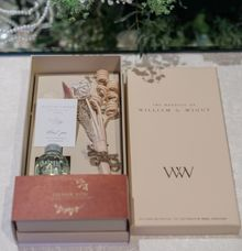 William & Winny Wedding souvenir by Plumeria Scent