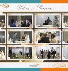 Wilson & Karina Virtual Online Wedding Live Streaming Holy Matrimony by Truevindo