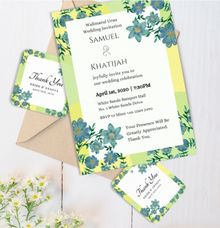 Wonderland Wedding Invitation by Gift Elements