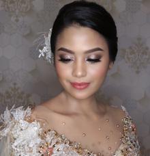 Jessica's Reception Makeup by Yoga Septa Make Up