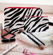 ZEBRA POUCHES by rasacinta
